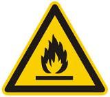 Feuerwehr Warnschild
