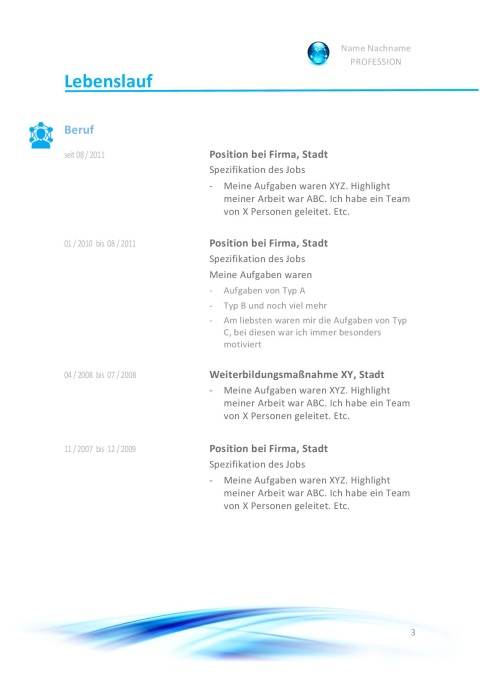 Lebenslauf 2018 Muster, Aufbau, Gestaltung & Tipps | JobGuru