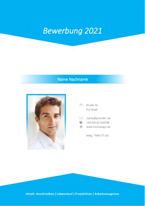 Deckblatt Marketing 2021