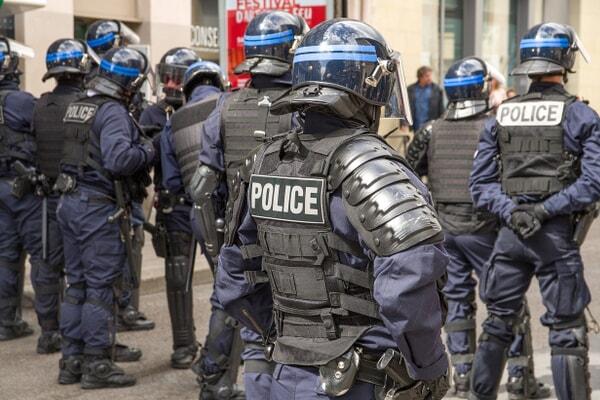 Polizei Truppe