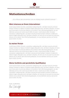 Steuerfachangestellte Motivationsschreiben